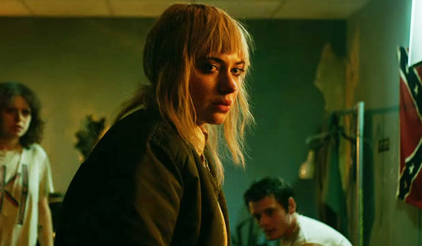 Imogen Poots takes a star turn as Amber, who's bangs are as punk as this film is.