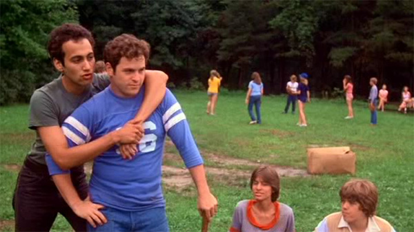 A very young, and dare I say handsome Jason Alexander of Seinfeld fame in 1981's The Burning