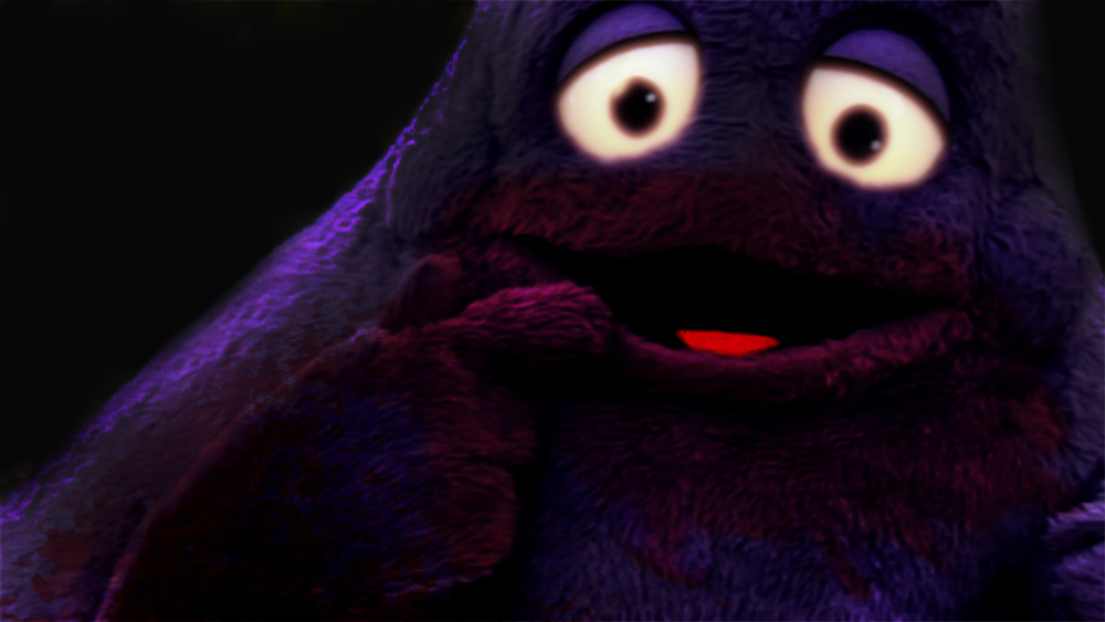 """Artist's depiction of the """"Not-Grimace"""""""