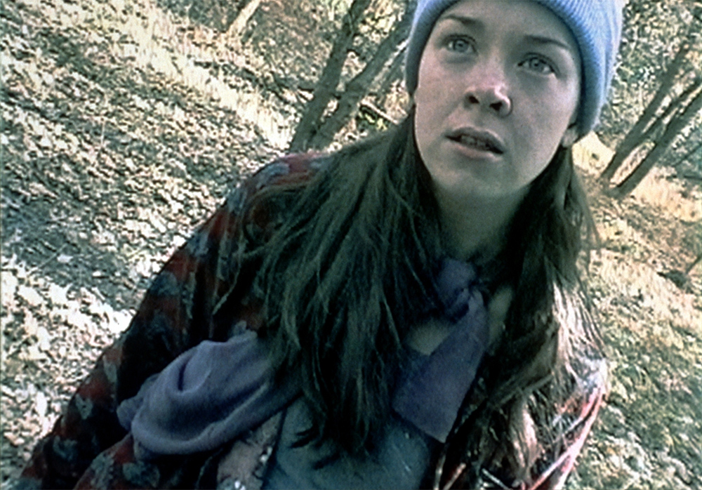 Heather Donahue, the documentary filmmaker in The Blair Witch Project (1999)