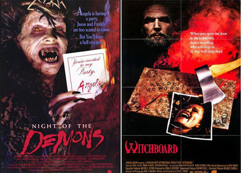 Night of the Demons and Witchboard