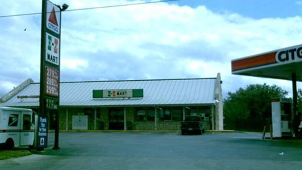 A typical E-Z Mart.