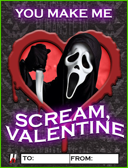 Scream - Ghostface Valentine