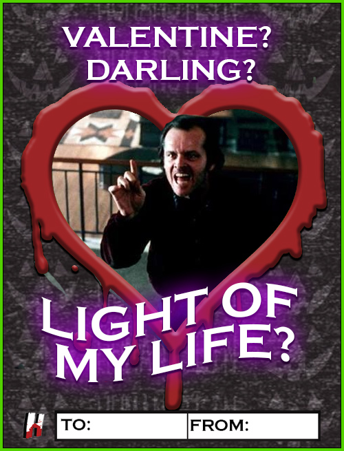 The Shining - Jack Torrance Valentine
