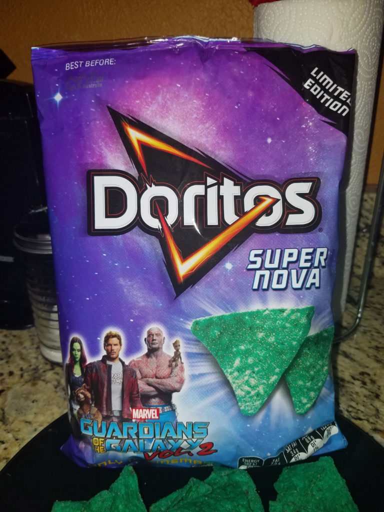 Super Nova Doritos - Guardians of the Galaxy Doritos