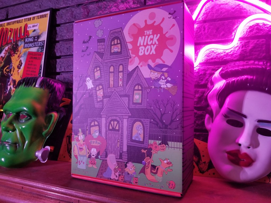The Nick Box - Halloween 2018 - Subscription Box Review